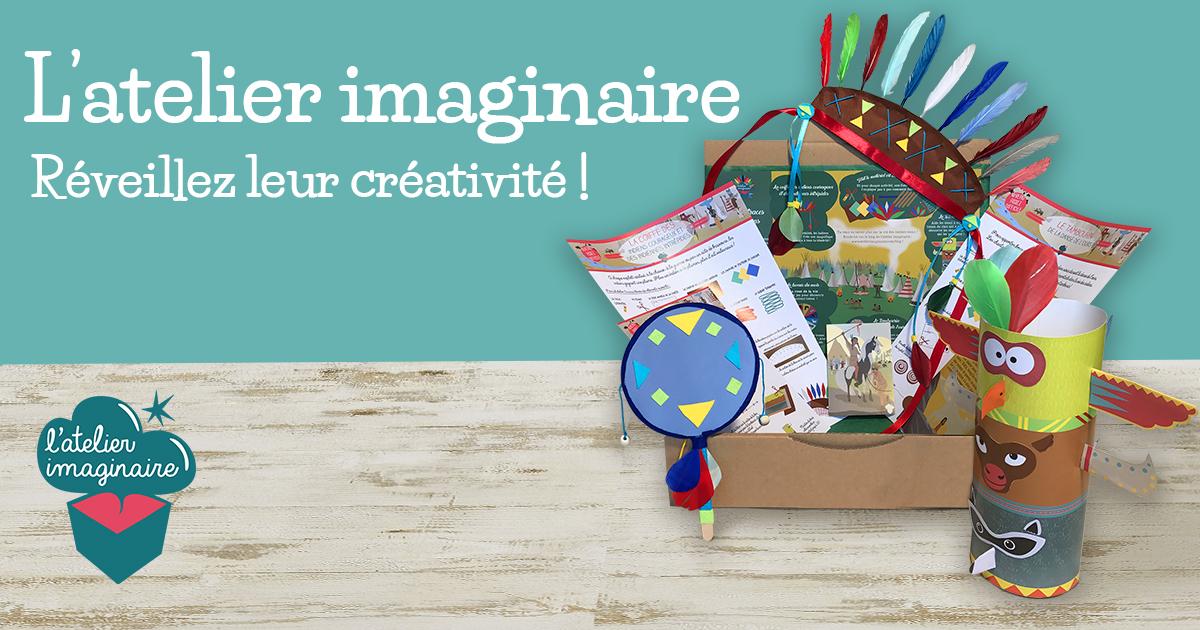 L'atelier Imaginaire : des box ludo-éducatives et créatives